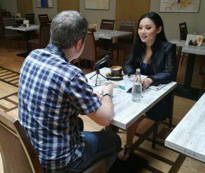 Krakow FMF 2018 - Resumen - Gorka Oteiza entrevistando a Tina Guo