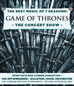 Game of Thrones - The Best Music of 7 Seasons - Tour 2019