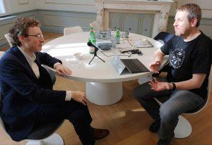 Nicholas Britell - Entrevista - Gorka Oteiza entrevistando a Nicholas Britell