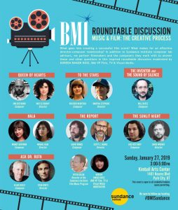 BMI Sundance 2019 - Roundtable Discussion - Music & Film: The Creative Process