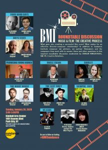 BMI Sundance 2020 - Roundtable Discussion - Music & Film: The Creative Process