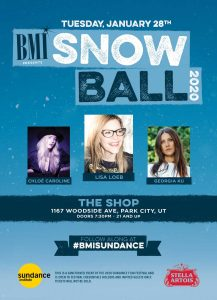 BMI Sundance 2020 - Snowball Showcase