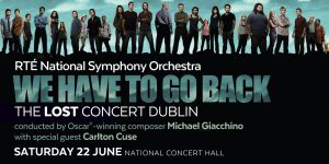Michael Giacchino - Dublín - Junio 2019 - We Have to Go Back: The LOST Concert Dublin