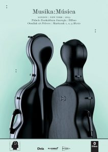 Musika:Música 2019 - Bilbao - Poster