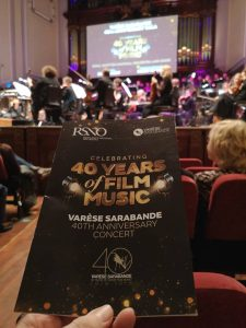 Robert Townson - 40th Years of Film Music - Concierto