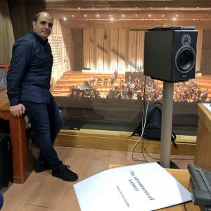 Iván Capillas - Recording in Bratislava