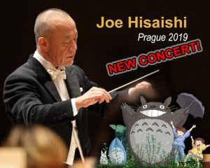 Joe Hisaishi - Praga 2019 - ¡Third concert announced!