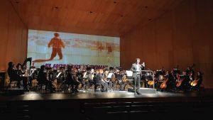 Concierto 'Una noche de música y cine' - El hombre esponja