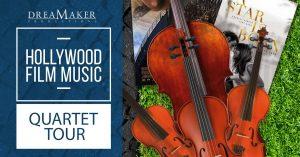 Hollywood Film Music - Quartet on Tour - Banner