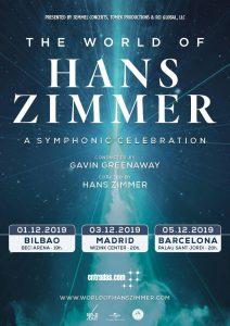 The World of Hans Zimmer - España - Diciembre 2019