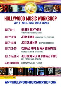 Hollywood Music Workshop 2019 - Poster