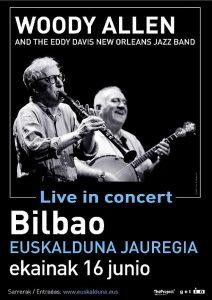 Woody Allen - Bilbao 2019 - Poster