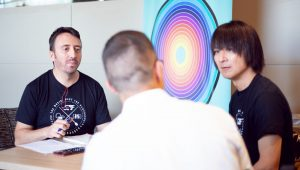 Yasunori Mitsuda - Entrevista - Tony y Yasunori