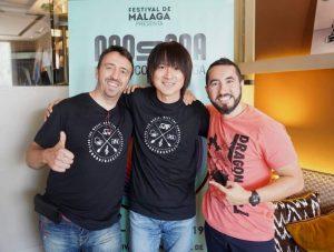 Yasunori Mitsuda - Entrevista - Tony, Yasunori y Rafa