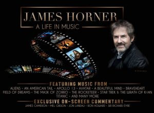 Concierto tributo 'James Horner: A Life in Music' en París - Banner