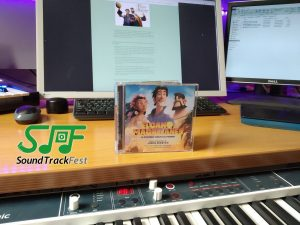 SoundTrackFest turns 3 Years Old! - Raffle - CD signed by Joseba Beristain
