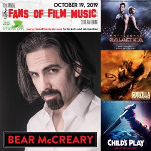 Fans of Film Music 2019 -  Bear McCreary