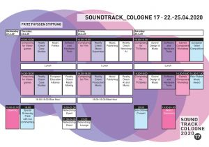 SoundTrack_Cologne 17 - Programa provisional