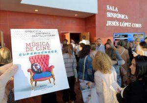 'Música de Cine - Héroes y Superhéroes' - Hall de entrada