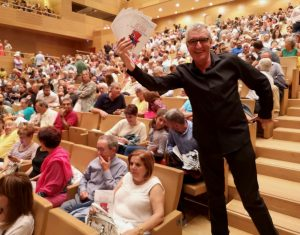 'Film Music – Heroes and Superheroes' - Luis Ivars promoting the concert :-)
