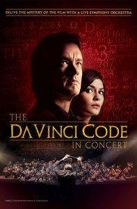 The Da Vinci Code in Concert - World premiere in 2020 - Poster