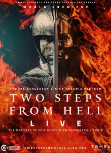 Two Steps From Hell – Gira 2020 – Poster