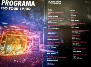 FSO 2019-2020 Tour - The Best Film Music in Concert - Program