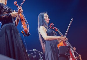 Tina Guo - Interview - On Stage
