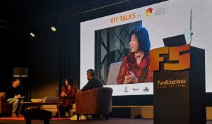 Yoko Shimomura - Fun & Serious festival 2019 in Bilbao (Spain) - Conference - Pictures and brief summary