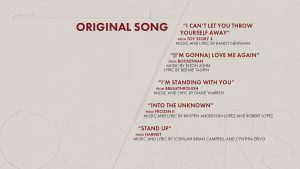 Oscars 92nd edition - Nominees - Original Song