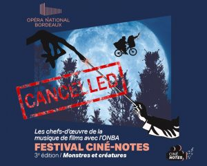 3rd edition of the Ciné-Notes festival dedicated to 'Monsters and Creatures' [CANCELLED]
