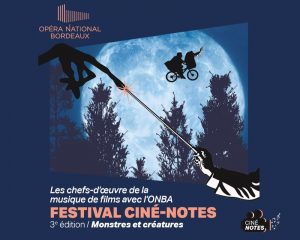 3rd edition of the Ciné-Notes festival dedicated to 'Monsters and Creatures'
