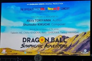Dragon Ball Symphonic Adventure - Madrid 2020