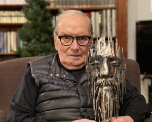 Ennio Morricone receives the Camille Award for Lifetime Achievement