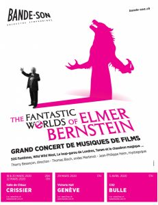 Conciertos 'The Fantastic Worlds of Elmer Bernstein' con la L'Orchestre symphonique Bande-Son
