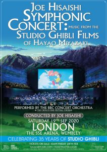 Joe Hisaishi in the UK in 2020 - Poster