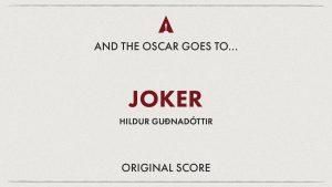Ganadores 92ª edición Oscars (2020) - Banda Sonora Original