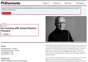 James Newton Howard in concert in London in 2021 [CANCELLED]