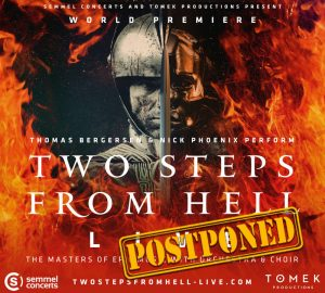 Two Steps From Hell - Thomas Bergersen & Nick Phoenix - Official Tour [CONCERTS POSTPONED]