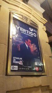 Vértigo - Bilbao 2020 - Resumen concierto - Cartel