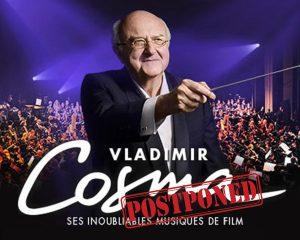 Vladimir Cosma in Paris - September 2020 [NEW DATES]
