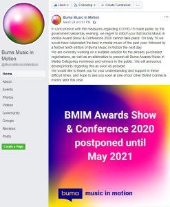 Buma Music in Motion 2020 - Yoko Shimomura - Pospuesto a 2021