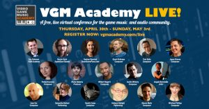 VGM Academy LIVE! 2020 - A 4-day free live virtual conference