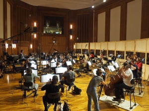 Centurion XII - Arturo Cardelús - Sesión de grabación - Synchron Stage Vienna