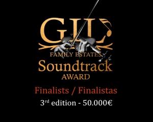 Finalistas de la 3ª Edición del concurso internacional de bandas sonoras – Gil Soundtrack Award 2020