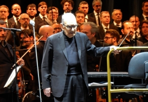 Ennio Morricone has left us at 91 years old - Concert in Turin in 2018