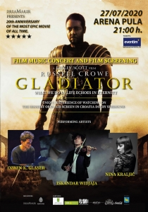 ISFMF 2020 - Film music concert & 'Gladiator' movie screening [CANCELLED]