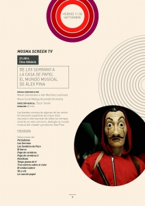 MOSMA Screen TV: From Los Serrano to Money Heist. The Musical World of Álex Pina