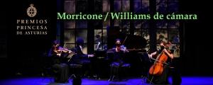 Premios Princesa de Asturias 2020 – Morricone-Williams de Cámara (14 octubre 2020)