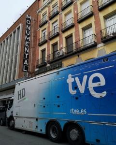 Spanish Film Music Gala 2020 - Summary article - Outside the Teatro Monumental